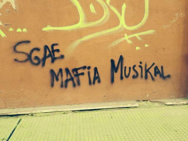 Mafia, Sgae, ladrones, robo, derechos de autor, tv, television, robar, productoras,