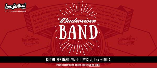budweiser band 2015