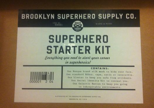 Kit de superheroe