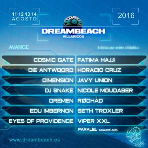 Dreambeach Nuevas Conf