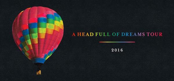 A Head Full Of Dreams Tour