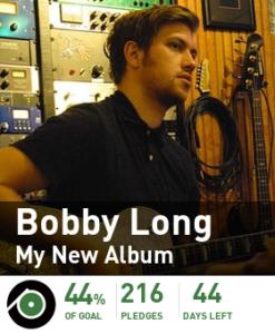 Bobby Long pledgemusic