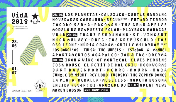 Vida Festival cartel
