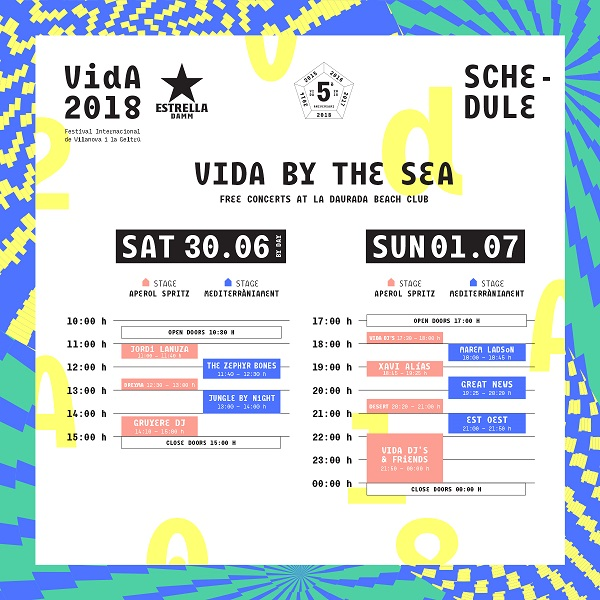 Vida Festival domingo 2018