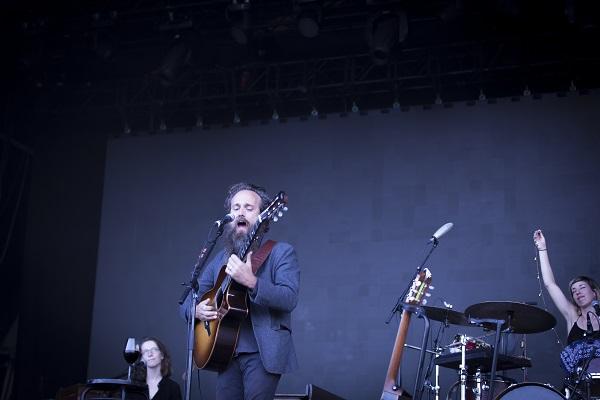 Iron & Wine en el Vida Festival. Foto: Mika Kirsi.